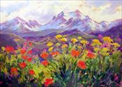 """Glory of Summer""   SOLD"