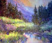 """Iluminated Meadow""  SOLD"