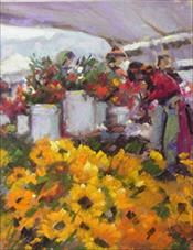 """Silk Road Flower Market"""